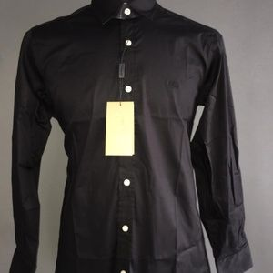 BURBERRY BRIT BLACK MEN LONG SLEEVE SHIRT